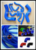 Full range high performance silicone hose coupler elbow reducer hump tube