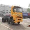 8x4 340hp 55t camión de carga las dimensiones