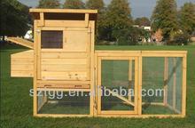 Big Size Wooden Chicken Coop Wood Chicken House SCC010