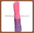 manches longues gant de ménage en caoutchouc
