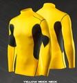 Personalizado- hechos nuevo estilo de rendimiento de compresión camisetas