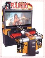 Rambo shooting game machine