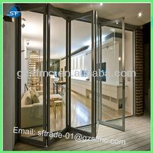 china manufacture heavy aluminum folding door