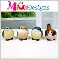 manufatura da fábrica novo colorido polyresin figura do pássaro