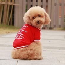 Quality wholesale custom pattern cotton dog clothes