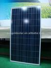 solar panel 150w polycrystalline high efficiency solar cell