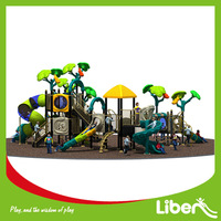 2014 New Unique Design of Outdoor Playground Equipment for Nursery School LE.CY.004