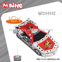 metal bricks toys diy ,diy rc car kit high quality remote control car