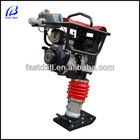 HTR80 CE certified Honda/Robin engine 75KG handheld portable plate tamp machine tamping rammer