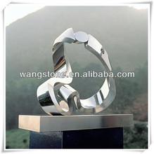 Europe Elegant Stainless Steel Sculpture House Decor Use
