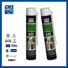aerosol cans polyurethane foam sealant filling machine construction