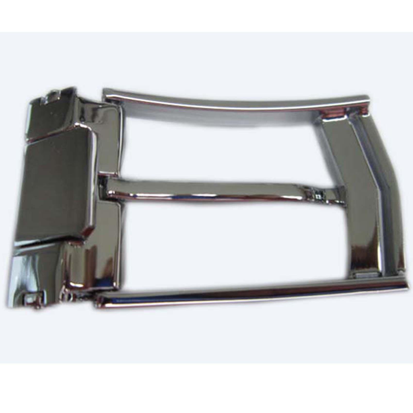 Fashional cheap wholesale black metal belt buckle factory