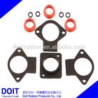 custom ( medical, bathroom, micro-pump) auto rubber gaskets high temperature oven gasket