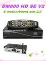 E motherbaord TV Reveive DM 800HD SE V2 SIM2.2 Card dm800 hd se V2 wifi Digital Linux satellite receiver