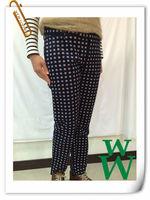 Woman fashion style elegant casual pants / trousers