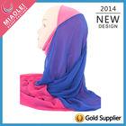 2014 factory direct sale new style wedding dress fashion muslim hijab