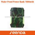 Portátil cargador de batería, banco de potencia usb, mah 7800 manual para banco de potencia