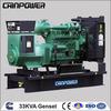 33 KVA Diesel GenSet 60HZ 1800RPM/MIN, alternator 220v