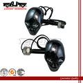 Bj-sl-015 12v universal bicicleta preta esqueleto crânio cabeça led pisca pisca-pisca para vulcan vn 750 800 1500 1600