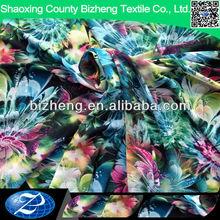 Diseño de la tapa del tela de la impresión digital modelos de la gasa blusas