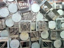 Square filter bag cages