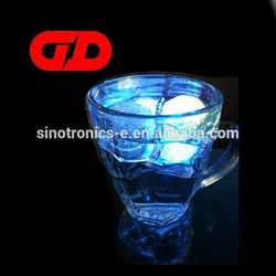 2014 led ice cube LFGB, hot light up ice cube
