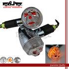 BJ-SL-019 12 V Aftermarket China Skull Face Motorcycle Turn Signal Lights Accessories for Dirt bike :XL125V / XR230 / APE50