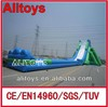 2014 New huge inflatable water hippo slide giant water slide for sale