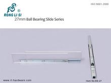 27mm mini telescopic channel ball bearing drawer slide