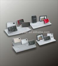new design acrylic cosmetic POP for high grade camera and camera lens