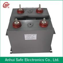 2kv 3kv 4kv 5kv 6kv 100-500uf Pulse locomotive Capacitor DC Link Super High Voltage Capacitor