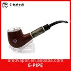 2014 gift best sale e cig pipe high quality e pipe starter kit