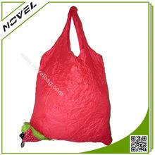 Strawberry Eco Friendly Reusable Foldable Shopping Bag
