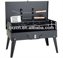 With 8 year's experience camping portable charcoal box barbecue grill