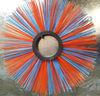plastic disc poly bristle road sweeper brush