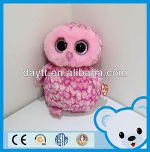 Import toys China long plush owl toy plush stuffed soft toy bird