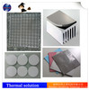 Thermal conductive silicone pad die-cutting any size