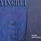 YR-843 4.5 oz 100 cotton denim fabric wholesale for shirt