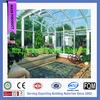 outdoor stylish portable glass sunroom/prefab luxury glass house
