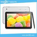Más barato 10.1 caliente tableta de doble núcleo hecho en china la fabricación