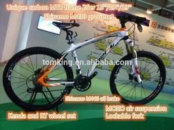 Hot sell high quality 26er MTB carbon frame carbon mountain bike,Profession carbon fiber mountain bike