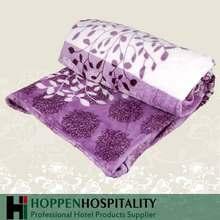 Excellent quality purple mink blanket wholesales