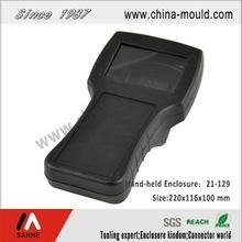 Plastic electronic hand-held enclosure