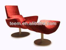 2014 Fashionable top sale modern furniture purple velvet sofa D-10