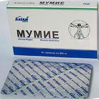 Natural Healing Mumijo, 60 Tablets by 200mg, Pure, Made in Altai Region (Russia) Shilajit, Mumio, Mumiyo, Mummy