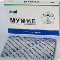 Natural Shilajit Tablets, 60 Tabl 200mg in Pack, Pure, From Altai (Russia) Mumijo, Mumio, Mumiyo, Mummy