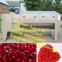 pomegranate separating machine/pomegranate peeling machine/pomegranate juicing machine