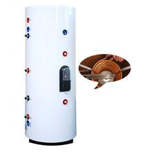 200L Pressuzied solar water heater tanks with copper coil inside