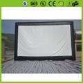 Cinema ao ar livre tela inflável publicidade personalizada inflável filme tv de projeção traseira tela para venda