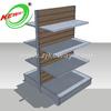 Laminated Supermarket Slatwall Display Shelf